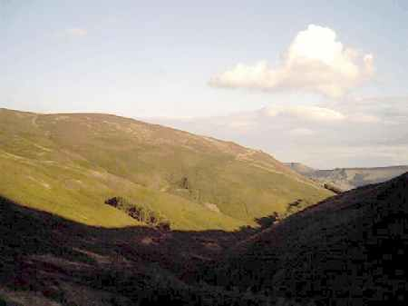 View down Grindsbrook.