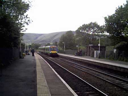 Edale railway station.