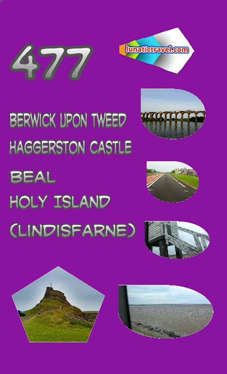 Berwick Haggerston Castle Beal Holy Island Lindisfarne bus times