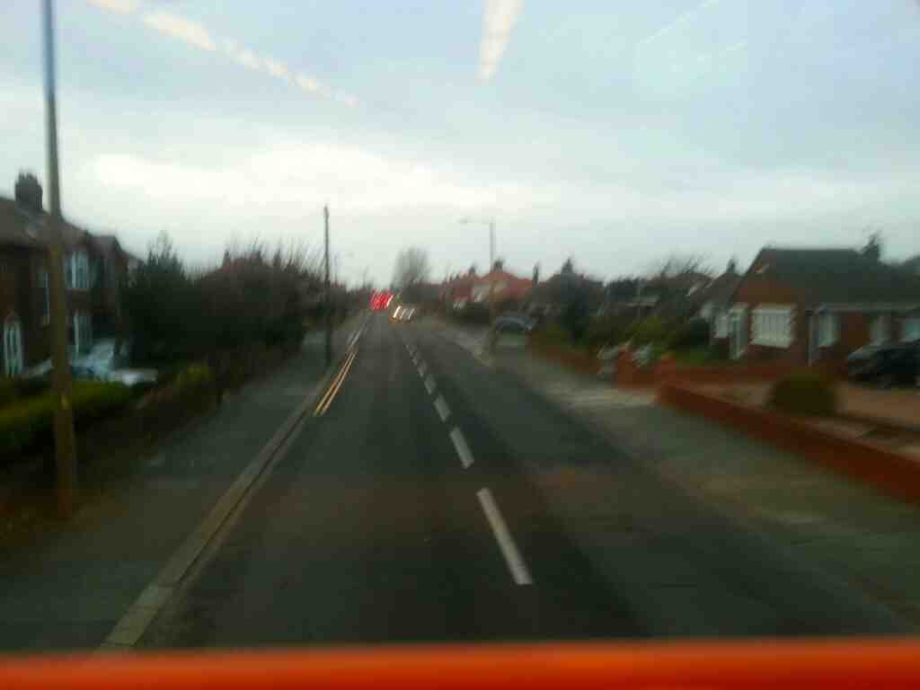 Curch Road Lytham Saint Annes Lancashire on a 68 bus