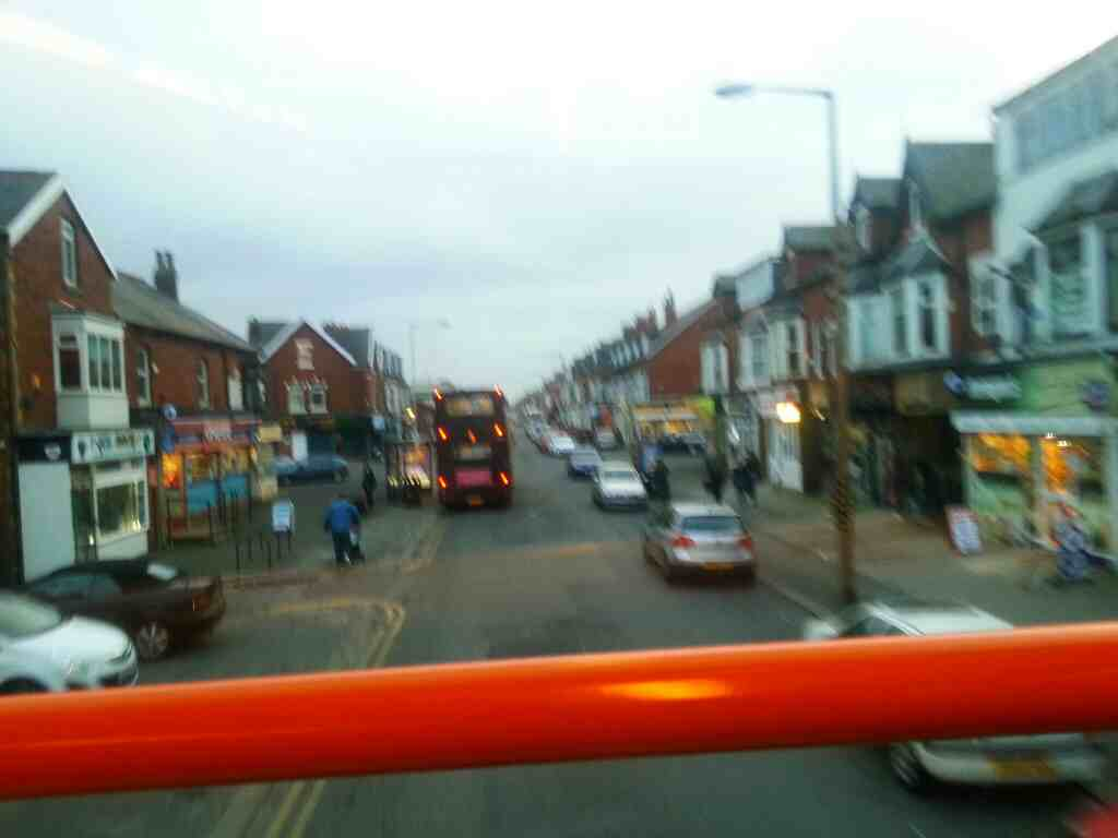 St Albans Rd Lytham St Annes on a 68 bus
