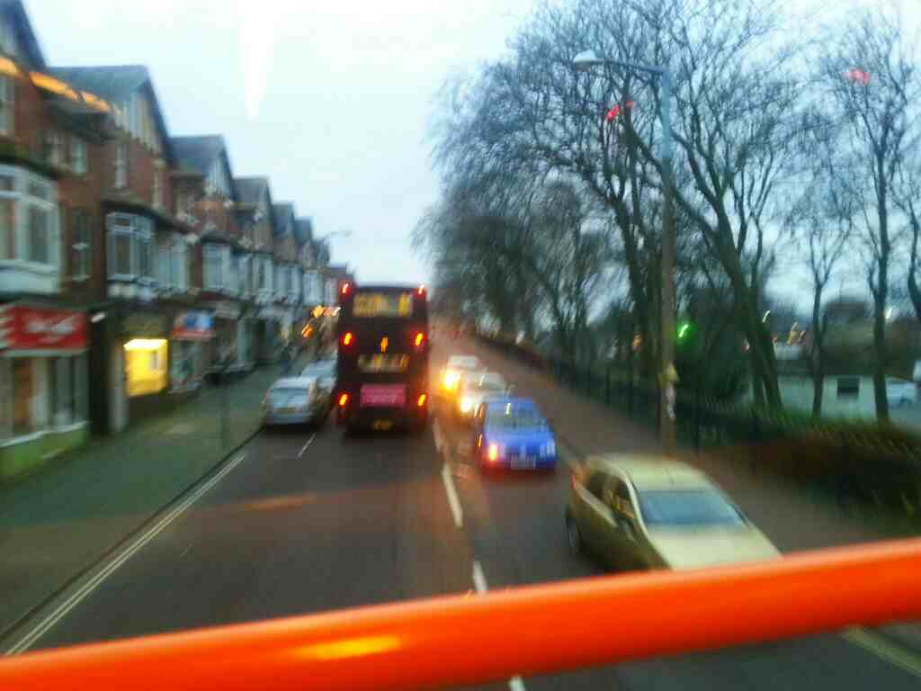 The Crescent Lytham St Annes on a 68 bus