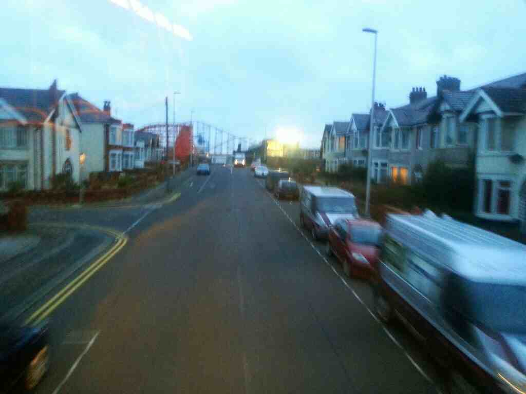 Watson Rd Blackpool Lancashire off a 68 bus