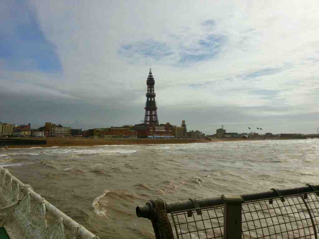 Blackpool Tower from North Pier