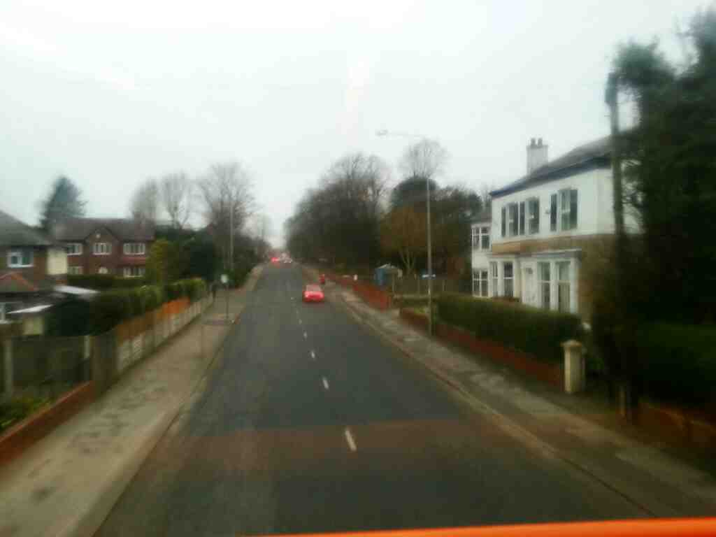 Tulketh Rd Preston on a 68 bus