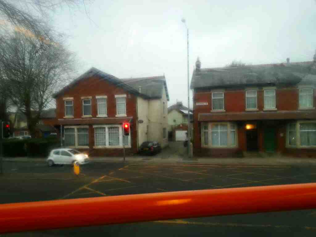 Junction of Tulketh Rd and Blackpool Rd the A5085 on a 68 bus