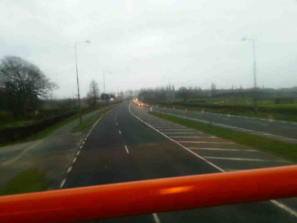 Blackpool Rd the A583 on a 68 bus
