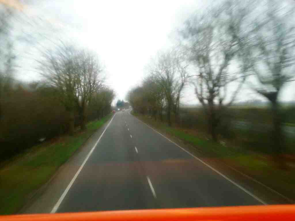The A584 Preston New Road off a 68 bus