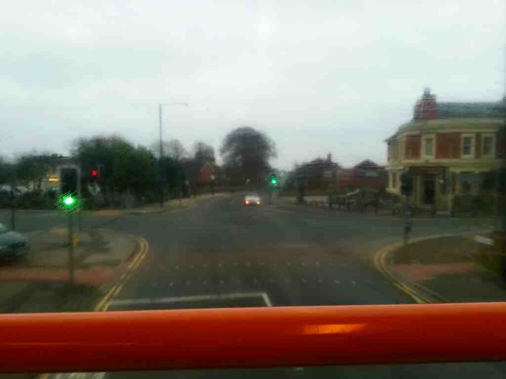 Junction of Lytham Rd and Kirkham Rd Freckleton on a 68 bus