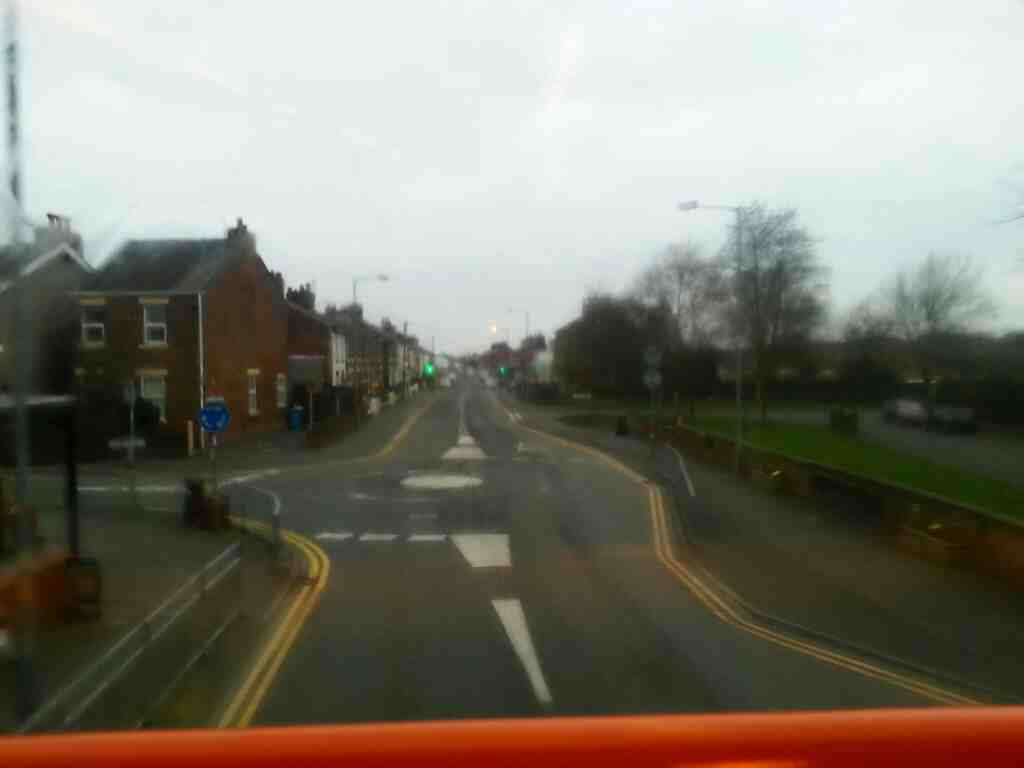 junction of Lytham Rd and Clitheros Lane Freckleton Lancashire off a 68 bus traveling from Preston to Blackpool