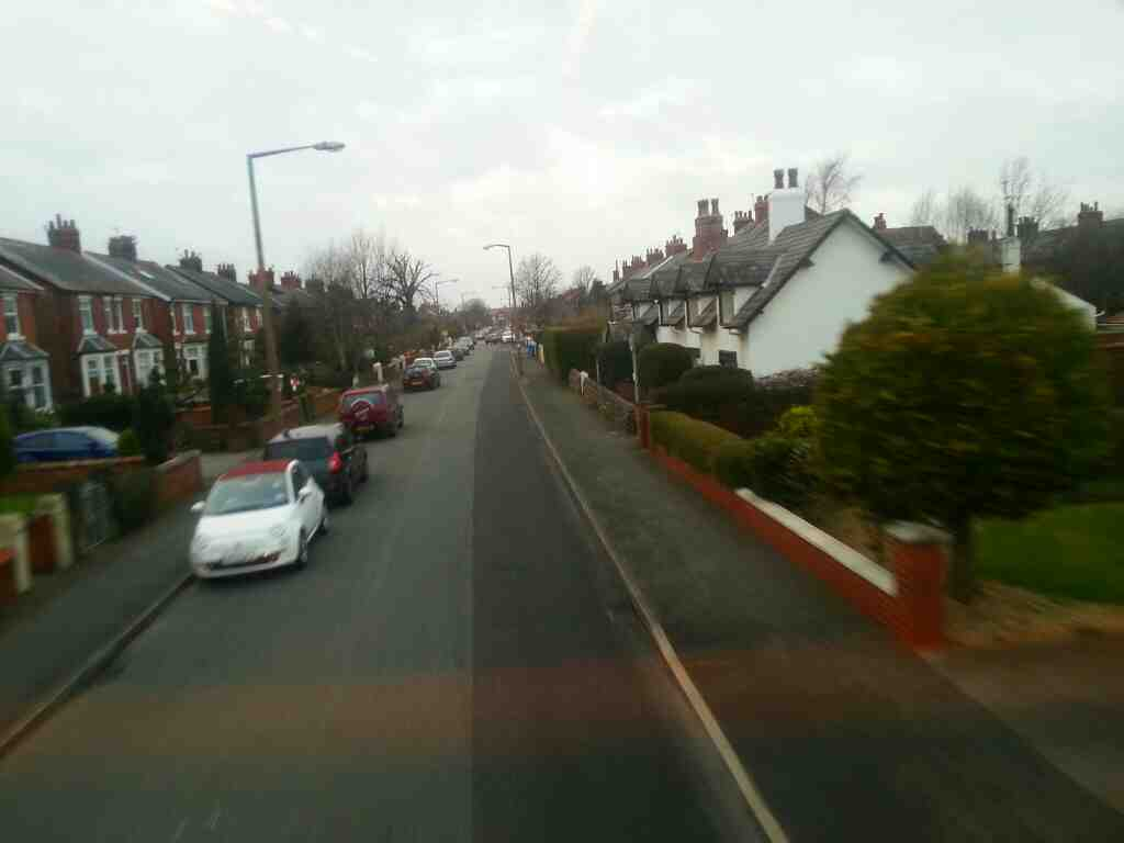 Commonside Lytham St Annes On a 68 bus