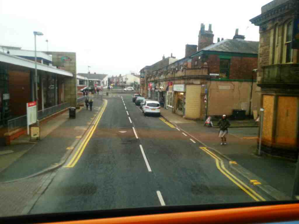 Chapel St Chorley Bus Station on a 125 bus