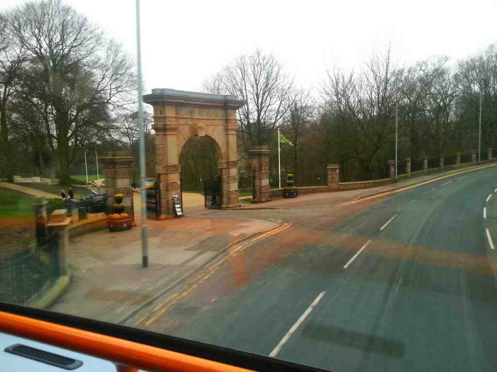Passes Astley Park Chorley on a 125 bus