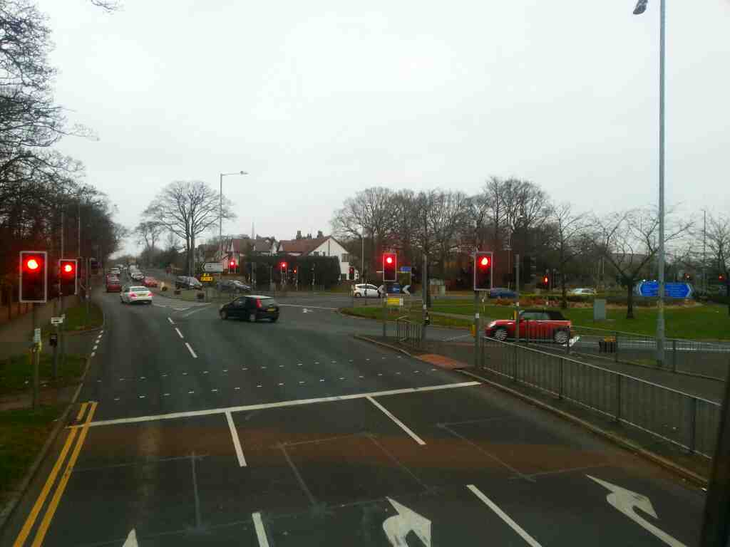 junction of Preston Rd the A6 and the A674 Chorley