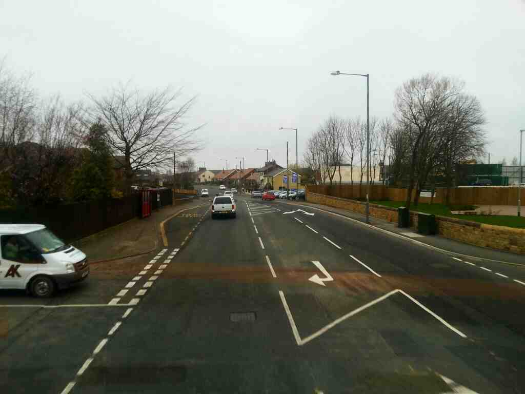 Junction of Chorley Road and Renshaw Drive Bamber Bridge off a 125 bus