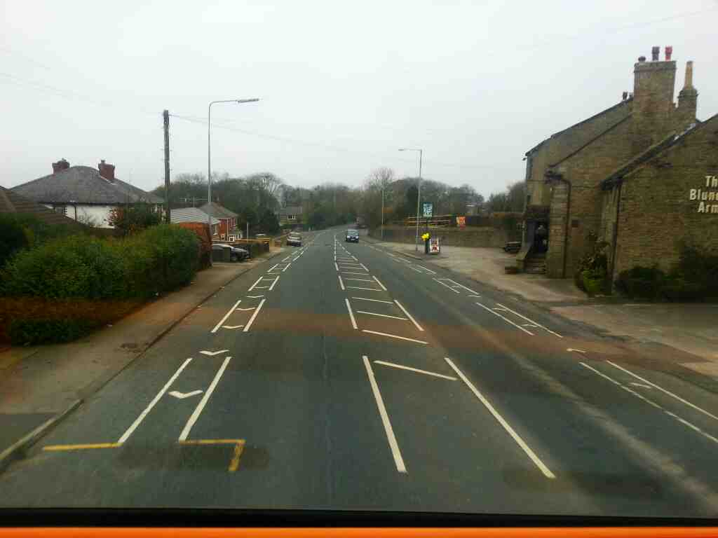 Traveling along Chorley Old Road on a Preston Bound 125