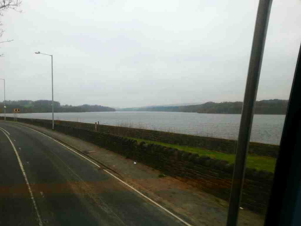 Lower Rivington Reservoir on Bolton Road the A673 off a 125 bus