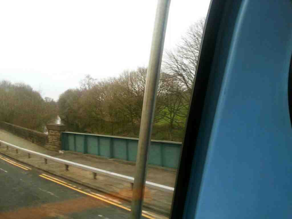 Leeds Liverpool Canal passing under the A6 just south of Chorley off a 125 bus