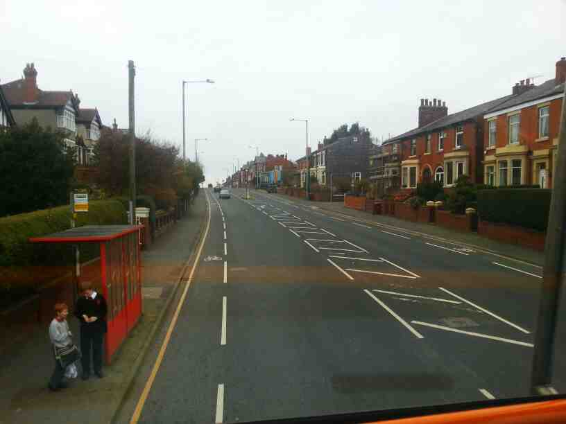 Bolton Road Chorley on a 125 bus