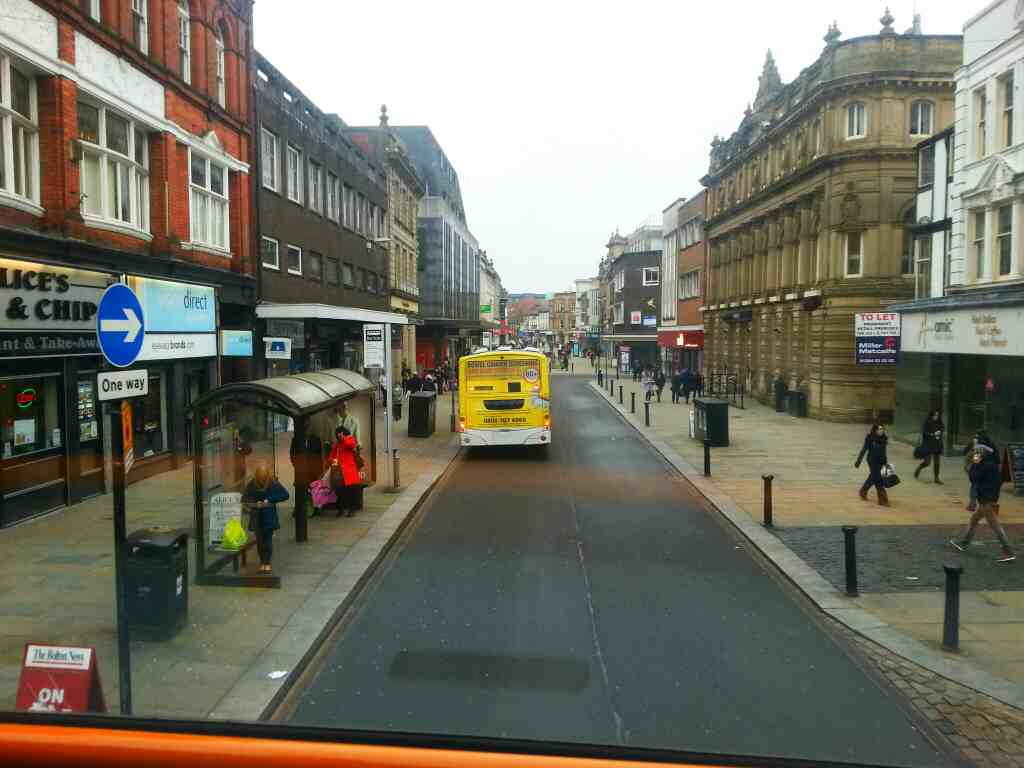 Deansgate Bolton on a 125 bus