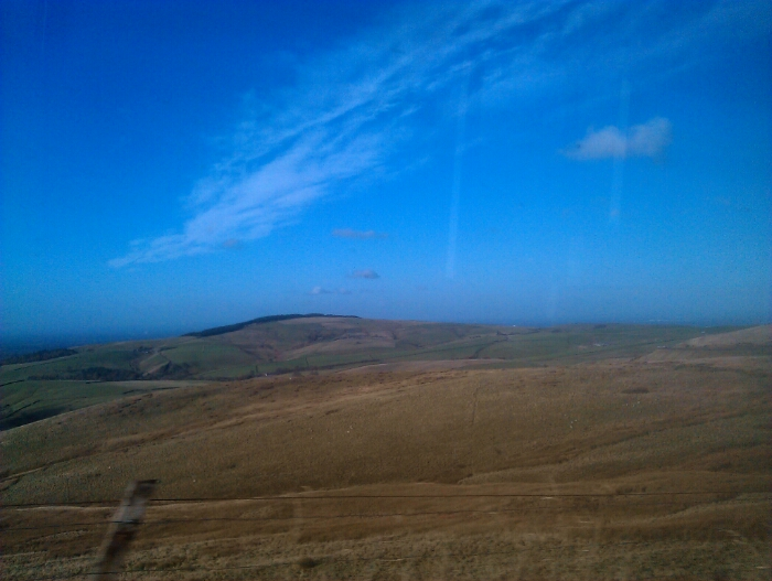 View from the Cat and fiddle