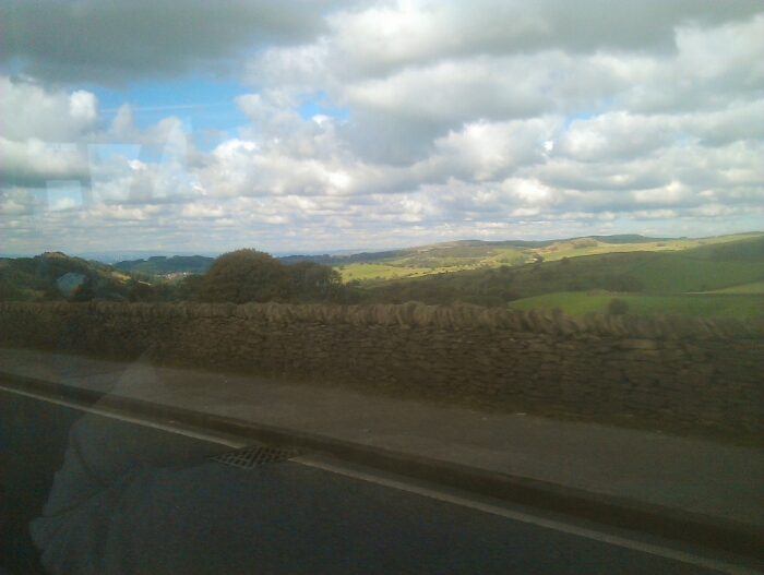 On the A537 near Macclesfield.