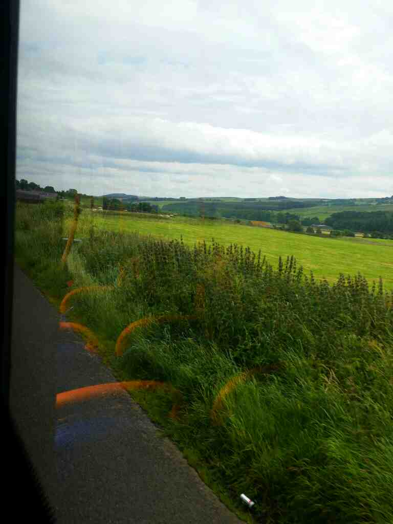On the 68 heading towards Melkridge on a 685 Carlisle Newcastle bus