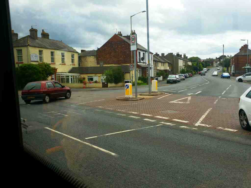 junction of Warwick Road.the A69 and Victoria Rd Carlisle on a 685 Carlisle Newcastle