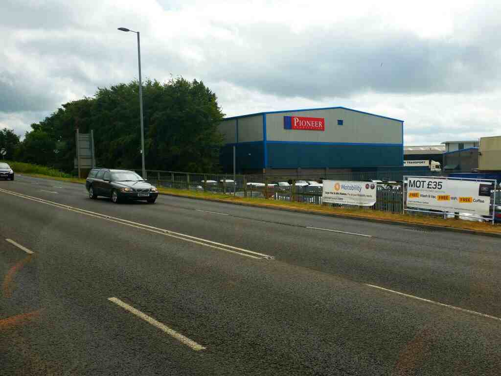 Passes the Rosehill Industrial Estate on Rotary Way the A69 on a 685 Carlisle Newcastle