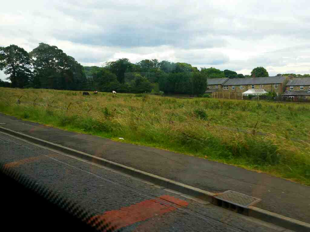 Hawthorne Terrace Walbottle on a 685 Carlisle Newcastle bus