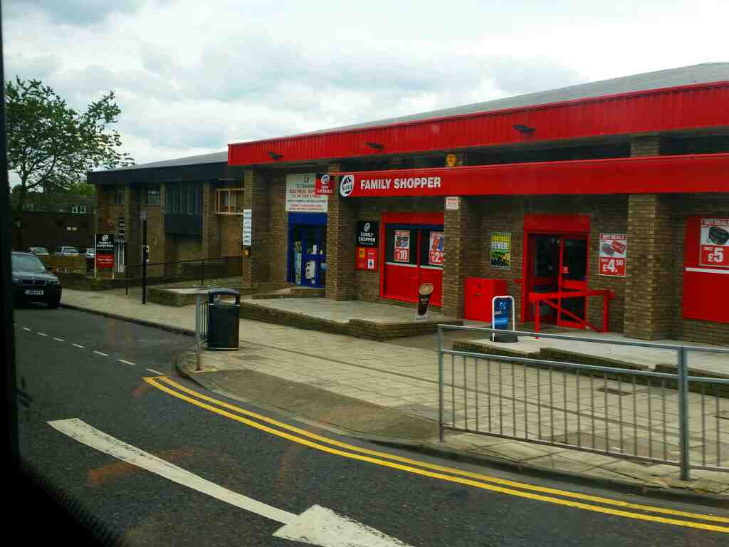 Passes Family Shopper Stanhope St Newcastle Upon Tyne on a 685 Carlisle Newcastle bus