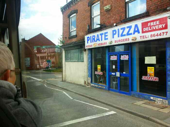 Passes Pirate Pizza Clay Cross Derbyshire