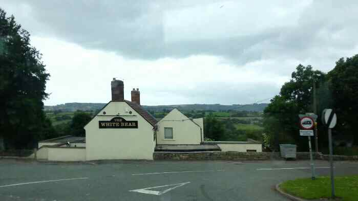 The White Bear near Clay Cross Debyshire