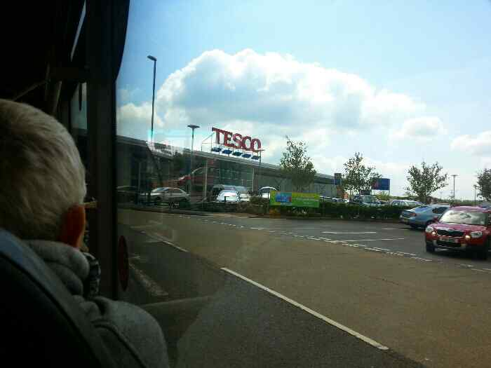Tesco Alfreton Hall street