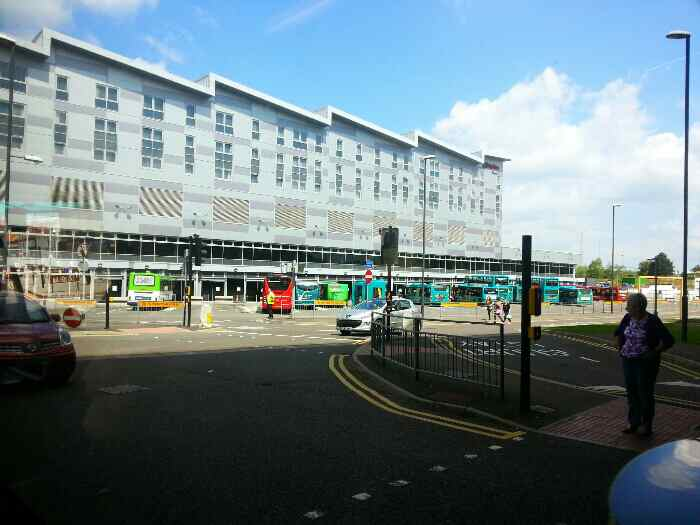 Derby Bus Station from Morledge