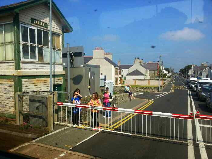 Level Crossing Valley Anglesey