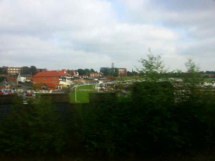 Passing Chester Racecourse
