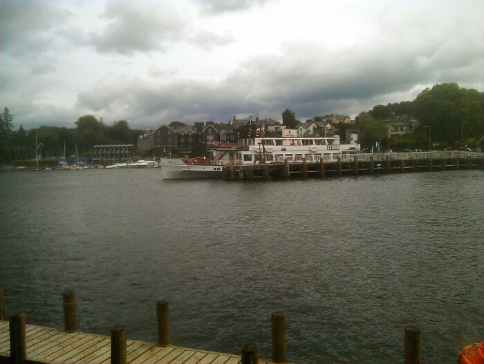 The Teal at Bowness Pier.