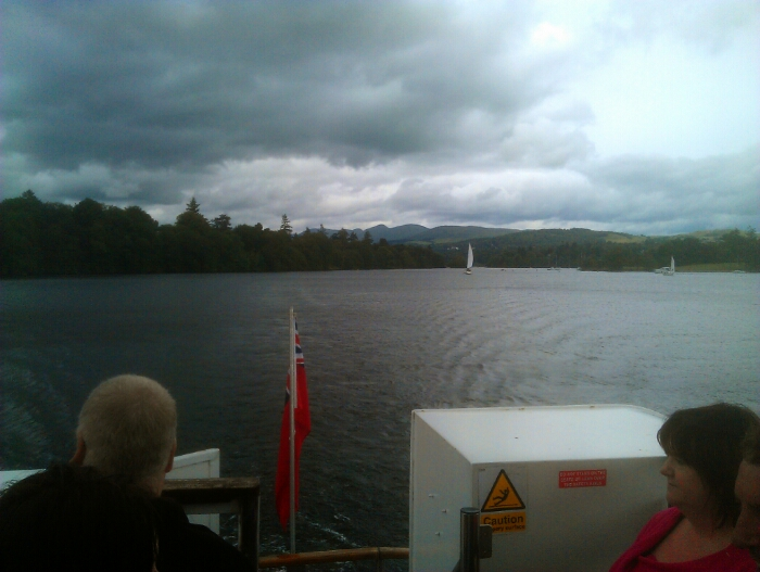 Looking back towards Bowness.