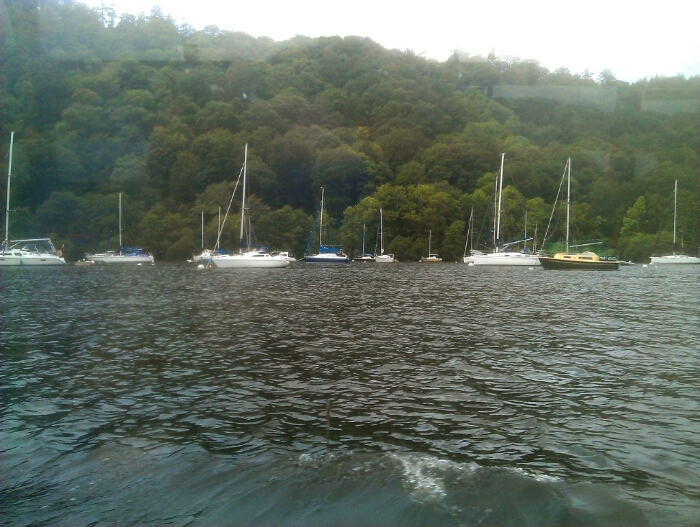 Yachts on Windermere.