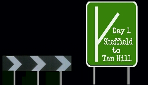 Click here to go to day 1 Sheffield to  Tan Hill