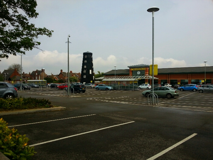 Windmill in Morrisons car park on Boothferry Rd Goole