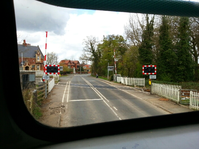 Level Crossing at Rawcliffe Station