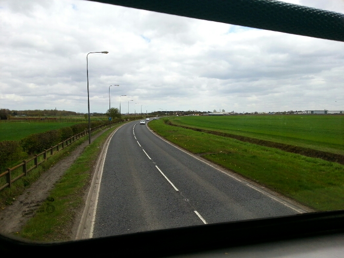 The A614 between Rawcliffe and Goole