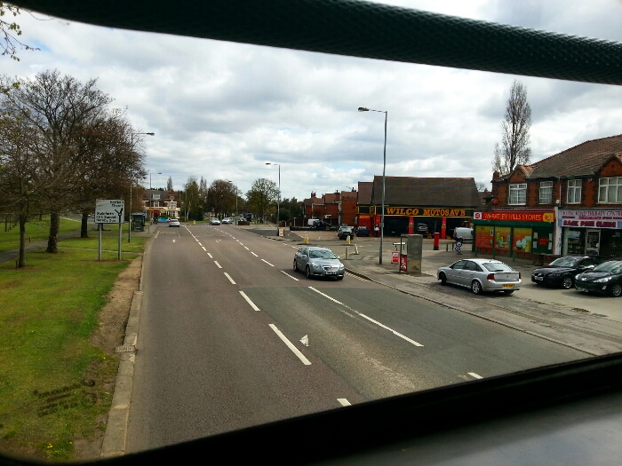 Approaching the Wheatley Hotel Thorne Rd Doncaster