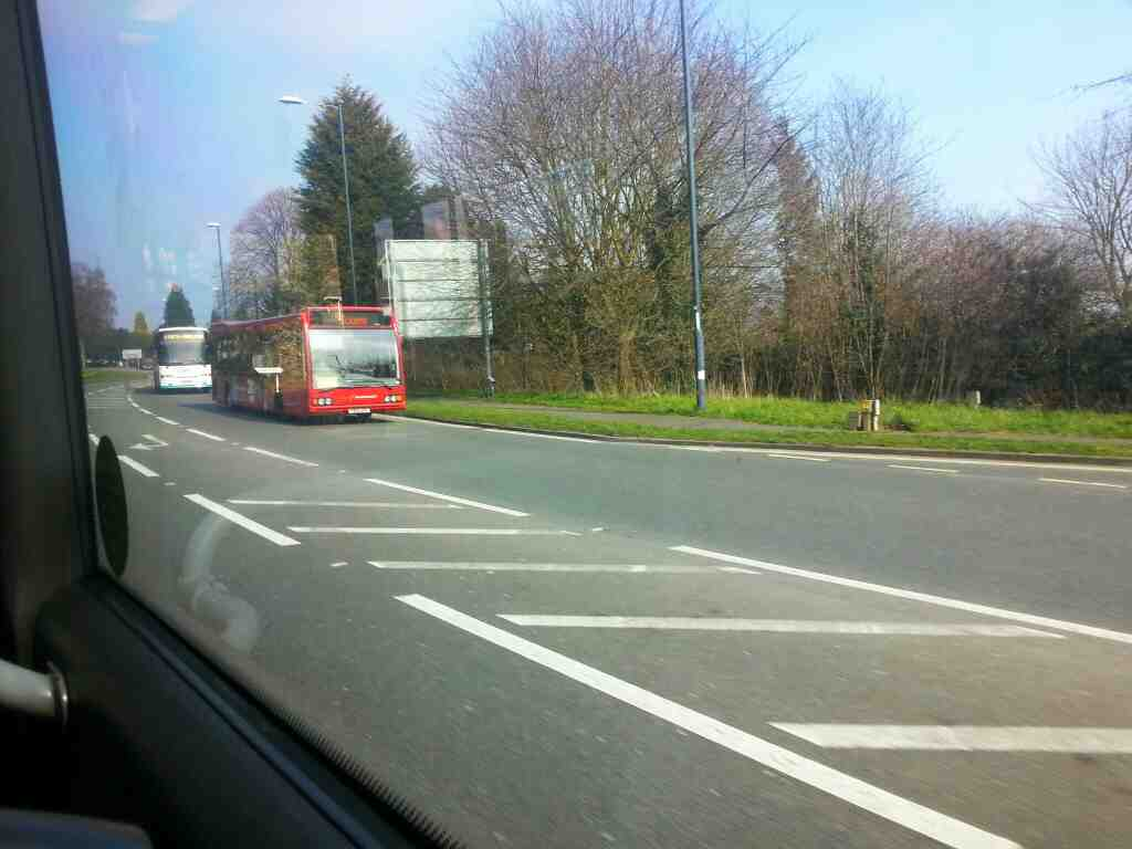 A sixes bus on Duffield Rd the A6