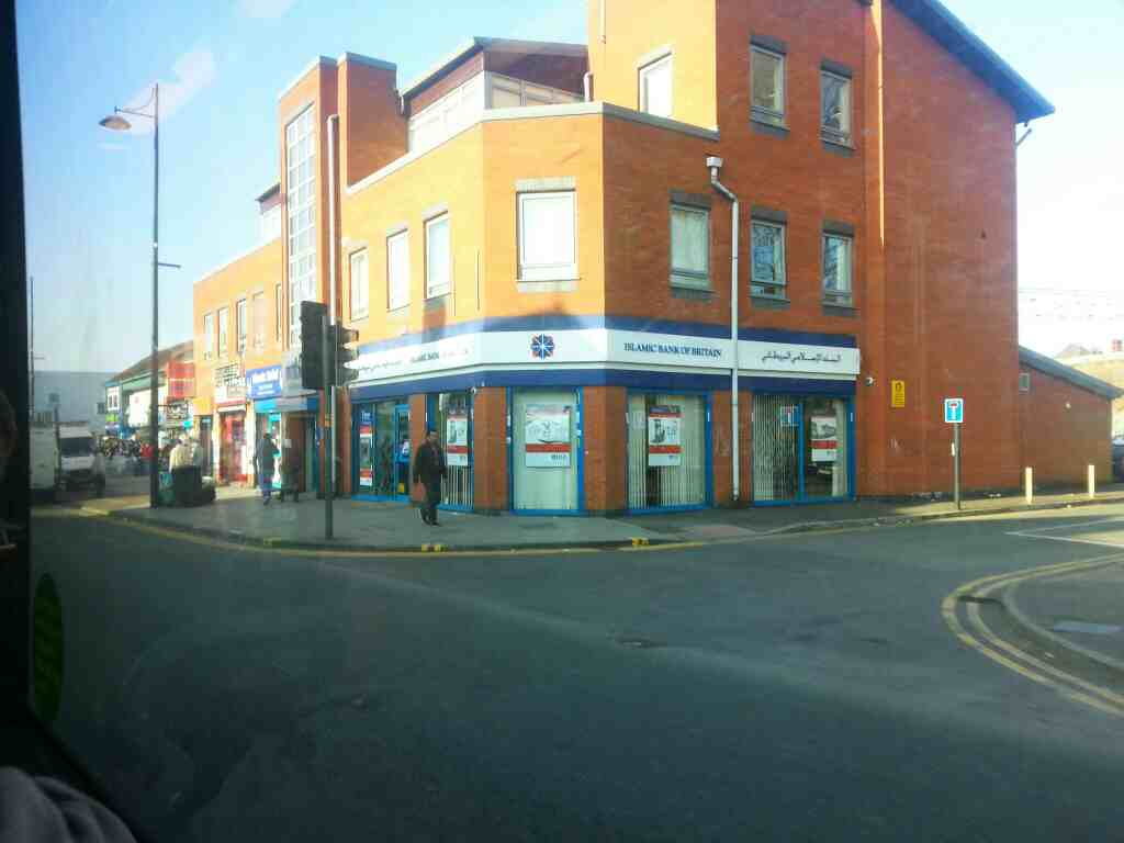Stockport Rd the A6 Longsight Manchester off a Transpeak bus