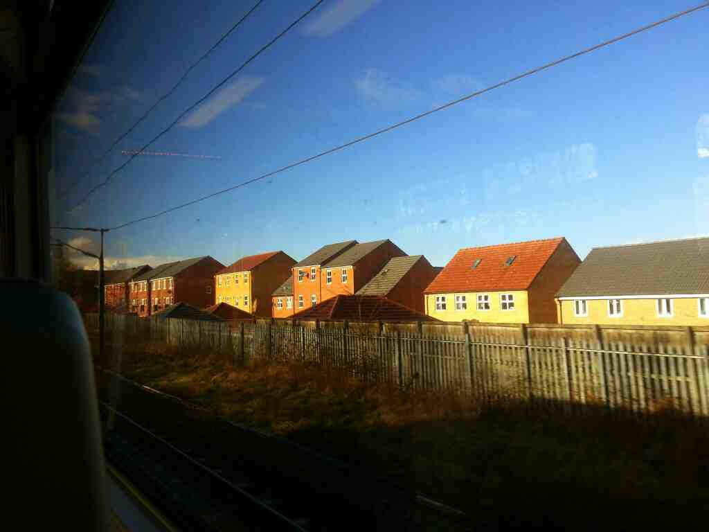 North of Outwood on a Northern Rail Doncaster to Leeds train