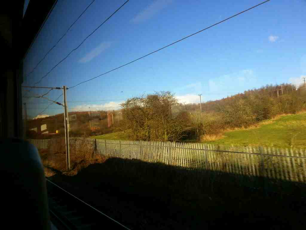 Heading towards Leeds West Yorkshire on a Northern Rail Doncaster to Leeds train
