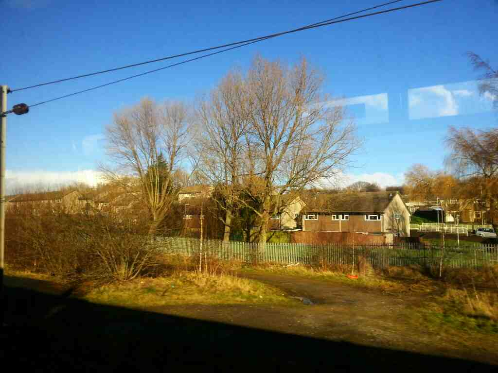 On the outskirts of Leeds on a Northern Rail Doncaster to Leeds train